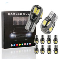 Canbus T10 194 W5W 5630/5730 8SMD LED Car Wedge Signal Light Width Lamp Bulb Lot