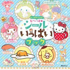 Sanrio Japón Hello Kitty My Melody Gutetama Pegatina Libro Pegatinas