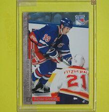"WAYNE GRETZKY  96-97  "" LEAF PREFERRED ""  #112   NY Rangers    Lot A2"