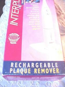 Interplak Rotary Power Toothbrush Plaque Removal Instrument RTB2B New Tested