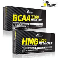 BCAA AMINO ACIDS + HMB SUPPLEMENT 60-180 Capsules Whey Protein Amino Energy