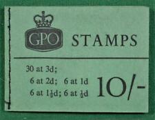 GB STAMP BOOKLET  10/- OCT 1961  X2 COMPLETE  (P137)