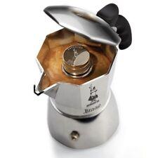 caffe Caffettiera MOKA BRIKKA bialetti 2 tazze alluminio espresso maker coffee