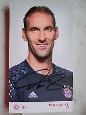 Tom Starke, Bayern München, Saison 2016 / 2017, original Autogramm