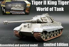 WWII German King Tiger II Tank of world limited edition 1:72 finished Easy Model