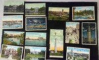 1900s Post Card Lot: New York, Massachusetts, New Orleans, Washington DC