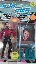 MIB 1993 Playmates Star Trek TNG Next Generation William Riker Action Figure