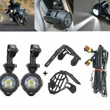 LED Fog Lamp & Protect Guards & Wiring Harness For BMW R1200 GS /ADV F700 F800GS