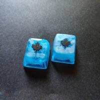 Rainbow 6 Black Ice Keycap Resin 1X Handmade Key Cap For Cherry MX Keyboard New