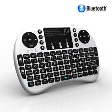 Rii i8+ BT Mini Bluetooth Backlight Touchpad Keyboard with Mouse Combo