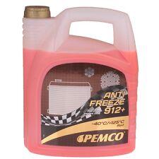 Kühlerfrostschutz Rot 5 Liter PEMCO Antifreeze 912+ -40°C Kühlmittel VW MERCEDES
