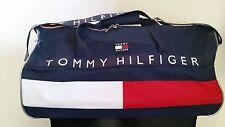 "Vintage Tommy Hilfiger color block duffle bag 12""x24"""