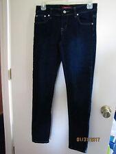 EUC GoGo Star Ladies Juniors Dark Blue Super Skinny Jeans Jeggings S Stretchy