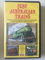 Just Australian Trains VHS