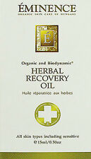 Eminence Herbal Recovery Oil Luxurious Facial Oil 15ml(0.5oz) All Skin Brand New