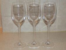 "CHEF & SOMMELIER CRYSTAL 3 WINE STEMS 8"" EXCELLENT CONDITION!"