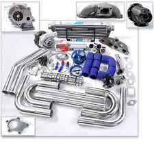 T04E T3 T3/T4 Turbo Kit Cast Turbo Manifold 350 00-09 S2000 AP AP1 AP2 F20C F22C