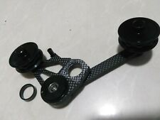 Carbon Cage Derailleur Ceramic Pulley Chain Tensioner Idler Fixings for Brompton