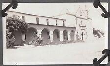 VINTAGE 1925 OCEANSIDE CALIFORNIA SAN LUIS REY SPANISH MISSION CATHOLIC PHOTO