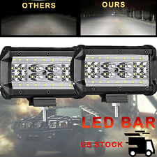 "2x 5""INCH 288W LED Work Light Bar Flood Pods Driving OffRoad Tractor 4WD ATV 12V"