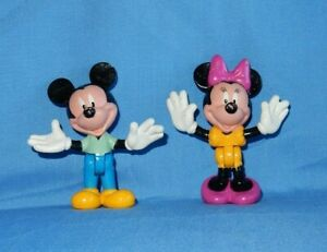 ARCO Mickey & Minnie Mouse PVC Water Fun Playset Figures