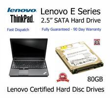 80GB Lenovo Thinkpad Edge E525 6.3cm Sata Disco Duro para Portátil Actualización