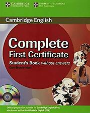 Complete First Certificate Student's Book with CD-ROM by Brook-Hart, Guy