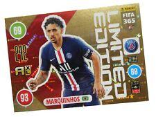 PANINI FIFA 365 2021 LIMITED MARQUINHOS - PSG PARIS SAINT-GERMAIN