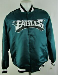 Philadelphia Eagles NFL Men's G-III Long Sleeve Snap Up Varsity Jacket