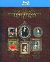 TIM BURTON COLLECTION - COFANETTO 3 film BLU-RAY nuovo sigillato [dv60]