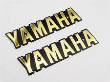 Motorcycle Fuel Tank Emblem Decals For Yamaha RXS LS100 XS650 Gas Badge Sticker