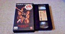 URBAN LEGEND UK PAL VHS VIDEO 1999 Jared Leto Robert Englund Teen Slasher Horror