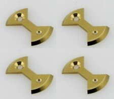 J&L Titanium/Ti Pedal Plate/Bow tie* 4pc for SpeedPlay Zero&Ultra Light Action