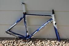 KUOTA KEBEL carbono carretera Marco de bicicleta y tenedor tamaño 48CM XS 700C Tri Carretera Marco, utilizado