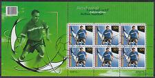 Schweiz 2008 - Mi. 2045 Fussball EM in A und CH kleinbogen gestempelt