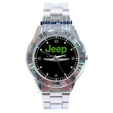 NEW JEEP CHRYSLER Custom Casual Chrome Men Wrist Watch Watches Men's Gifts
