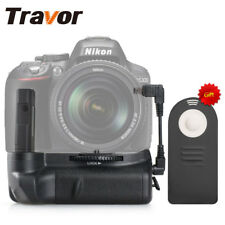 Travor Battery Grip for Nikon D5300 D5200 D5100 Camera + IR Remote Control Gift