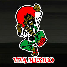 "Mexico Mexican Andele! Viva Mexico LARGE 9.5""x13.5 Vinyl Decal Sticker Mexicano!"