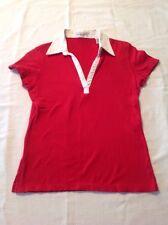 Girls Juniors Short Sleeve V Neck TShirt Medium EUC