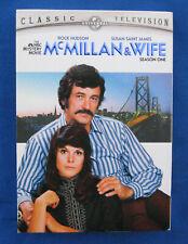 "McMillan & Wife ""Complete Season One"" (2-DVD) Rock Hudson-Susan St.James-TV.*"