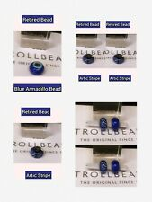 Trollbeads! 2. Retired Beads Limited Quantity! 1.Blue Armadillo2. Artic Stripes