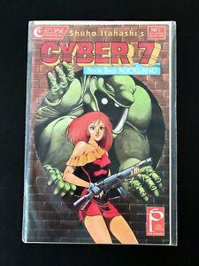 CYBER 7 BOOK 2 (II) #1 ECLIPSE COMICS 1989 NM+