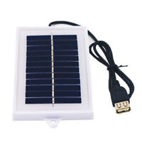 Portable Solar Charger USB 5V Charging Board Panel NT