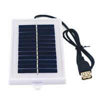 Portable Solar Charger USB 5V Charging Board Panel KA