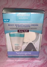 Neutrogena Advanced Solutions Body Resurfacing Cream & Attachments Body Refill