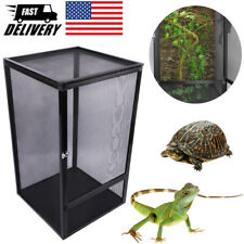 Reptile Cage Pet Terrarium Feeding Tank For Lizard Turtle Insect Breeding Box