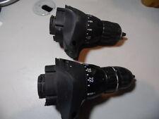 [2] BLACK & DECKER 12V Firestorm Multi Tool MT1203  DRILL HEAD ATTACHMENTS ONLY