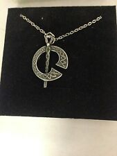 """Tara R104 English Pewter on a Silver Platinum Plated Necklace 18"""""""