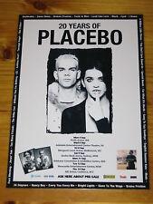 PLACEBO - 2017 Australia Tour - Laminated Promotional Poster