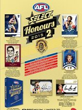 SELECT 2015 AFL HONOURS 2 GOLD COAST SUNS COMMON CARDS $1 EACH POSTAGE COMBINED